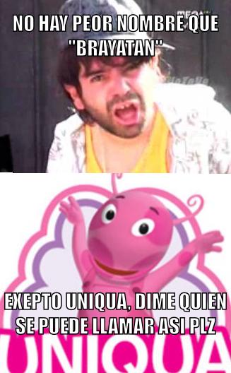 Uniqua plz - meme