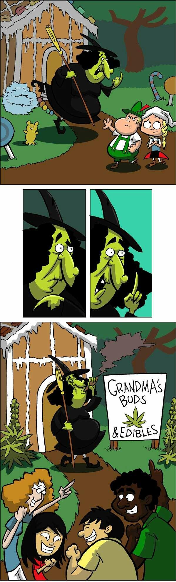 a smartass witch - meme