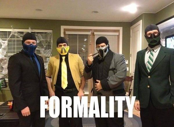 Formality - meme