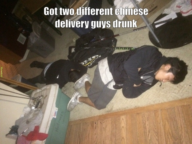 Asians vs Whiskey - meme