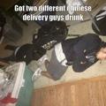 Asians vs Whiskey
