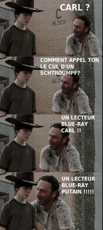 Carl et Rick - meme