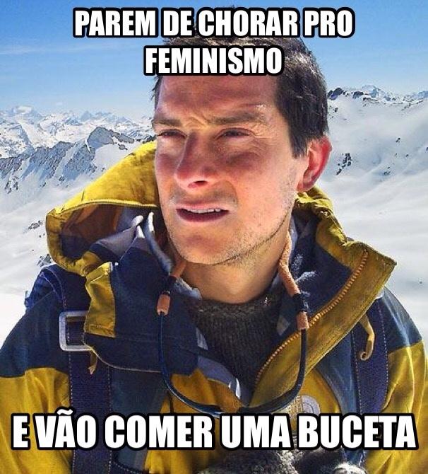 feminismo é chato mas isso é pior - meme