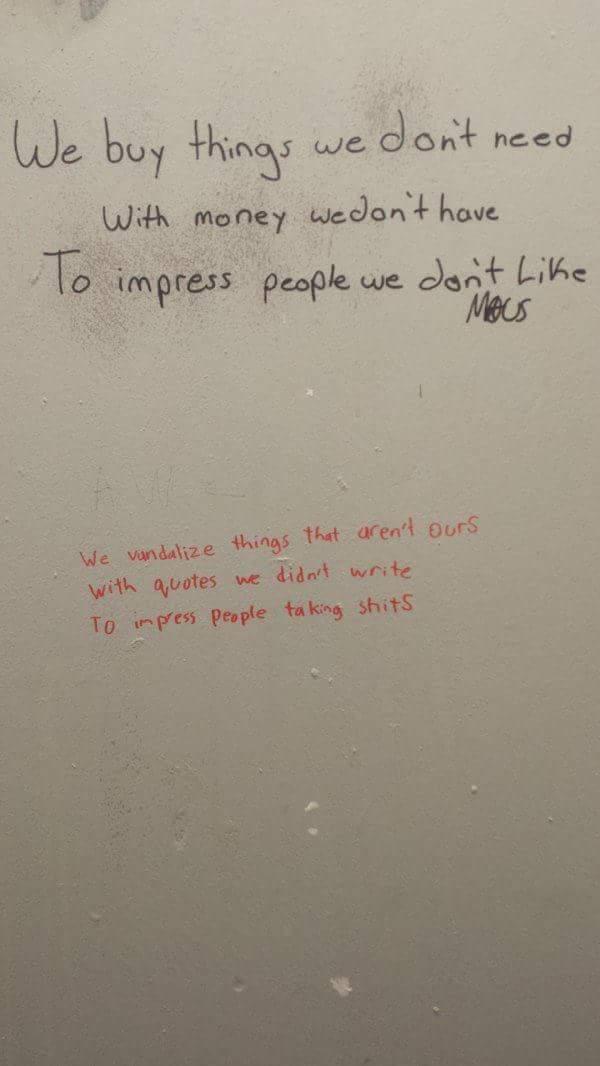 Thr shithouse poet strikes again - meme