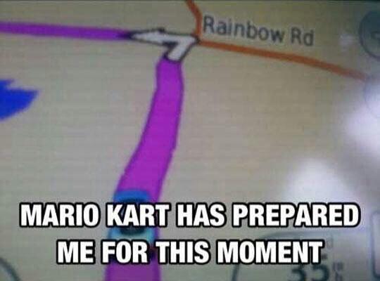 The rainbow race - meme