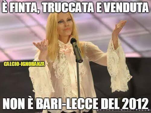 Bari-Lecce nel cuore - meme