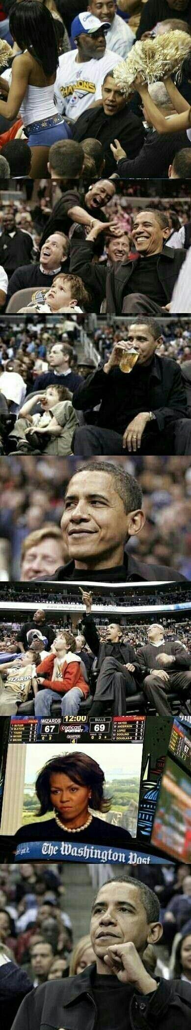 Obama :watchingu: - meme