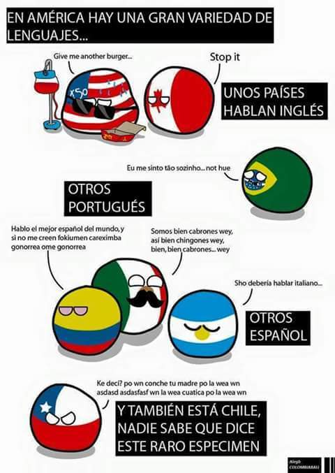 soy de Chile :v - meme