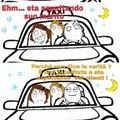 Il tassista impiccione ...