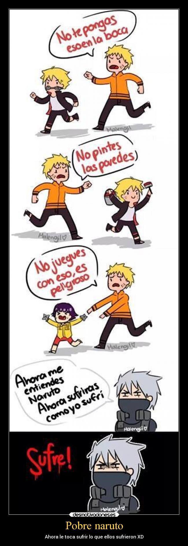 Naruto ta sabe como se siente - meme