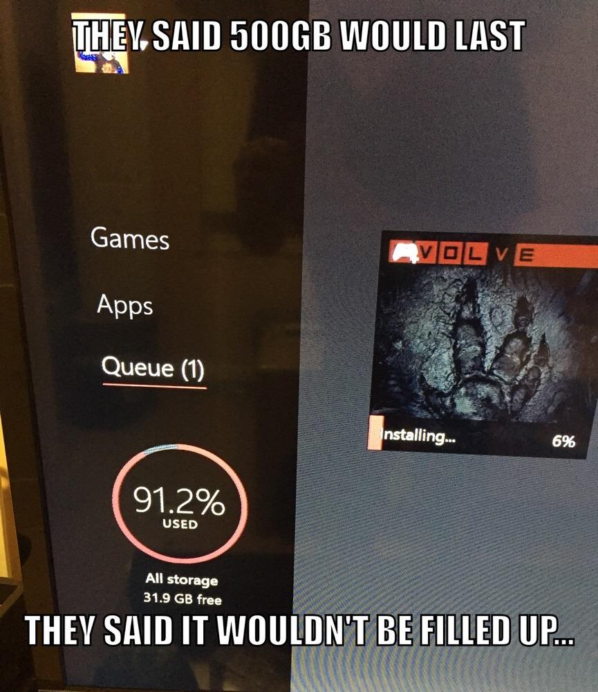 Xbox One - meme