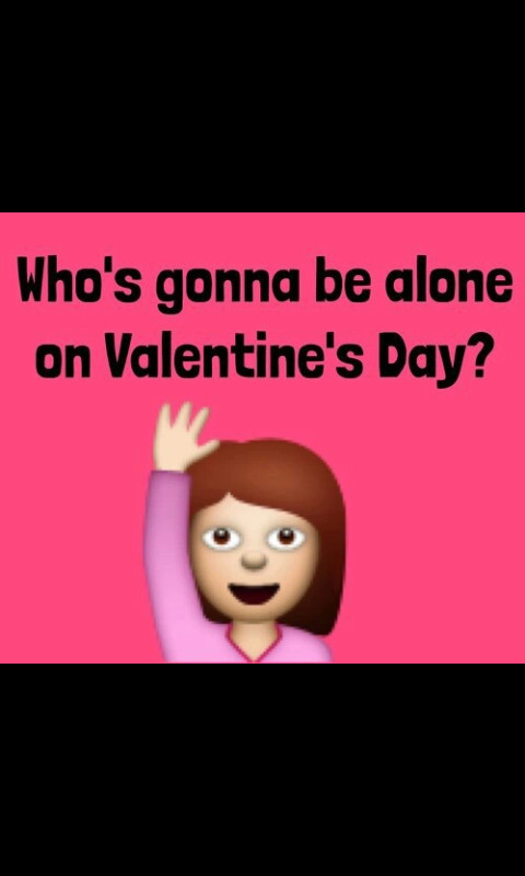Qui sera seul le jour de la st valentin ? - meme