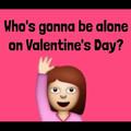Qui sera seul le jour de la st valentin ?