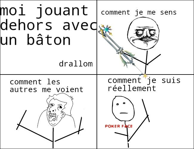 true story et vive kingdom hearts ! - meme