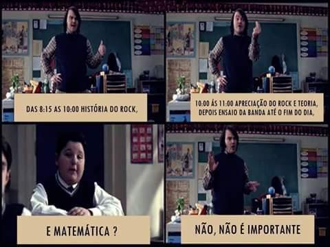 Quero um professor desse - meme
