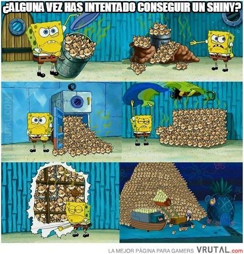 Maldito pokemon shyni - meme