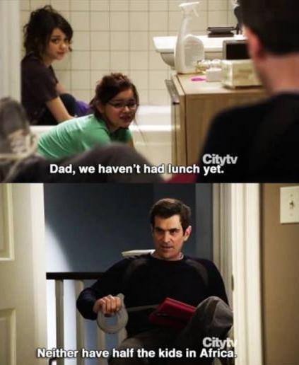 the modern family - meme