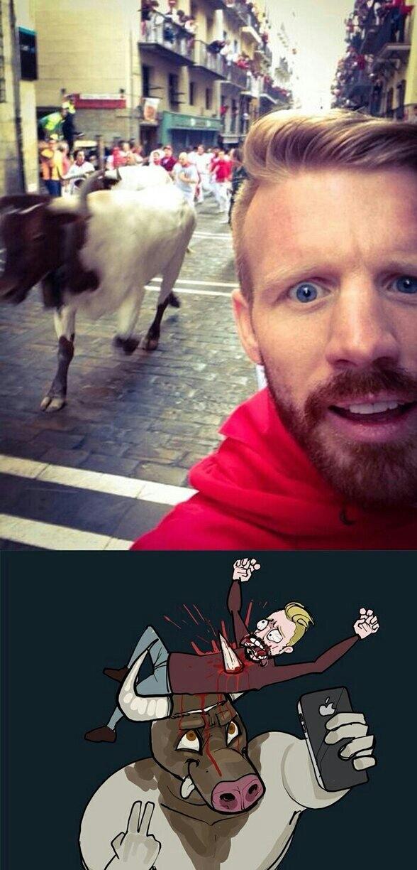 Last selfie - meme