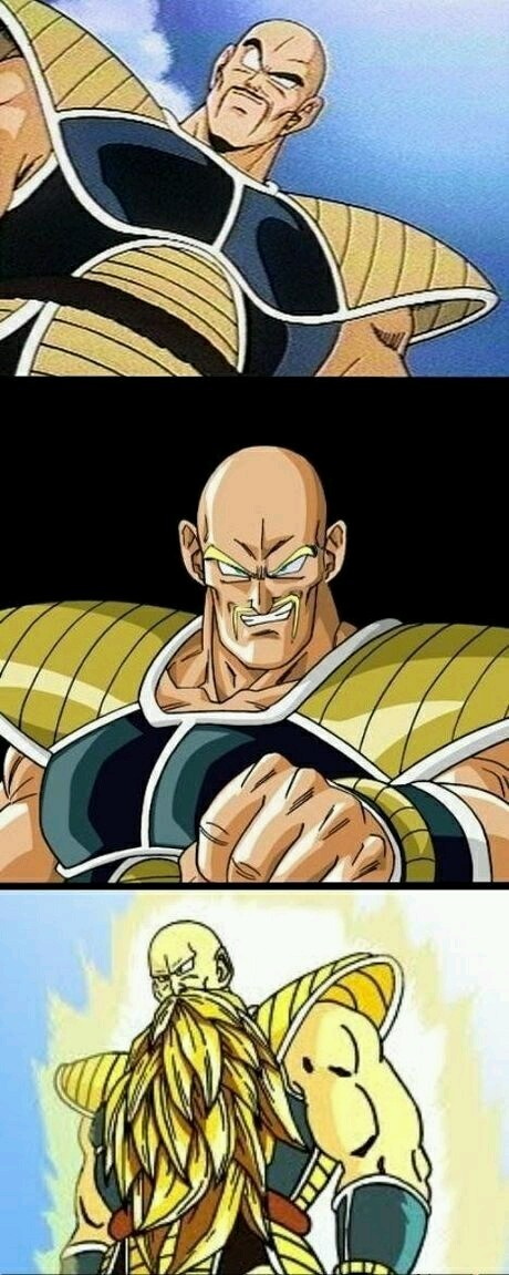 If Nappa could even... - meme