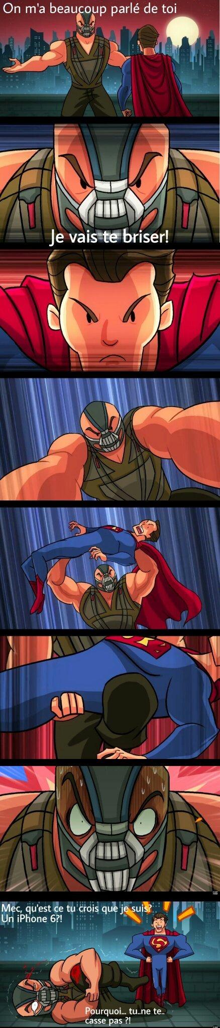 Si Superman aurait été adopté par la famille Waynes - meme