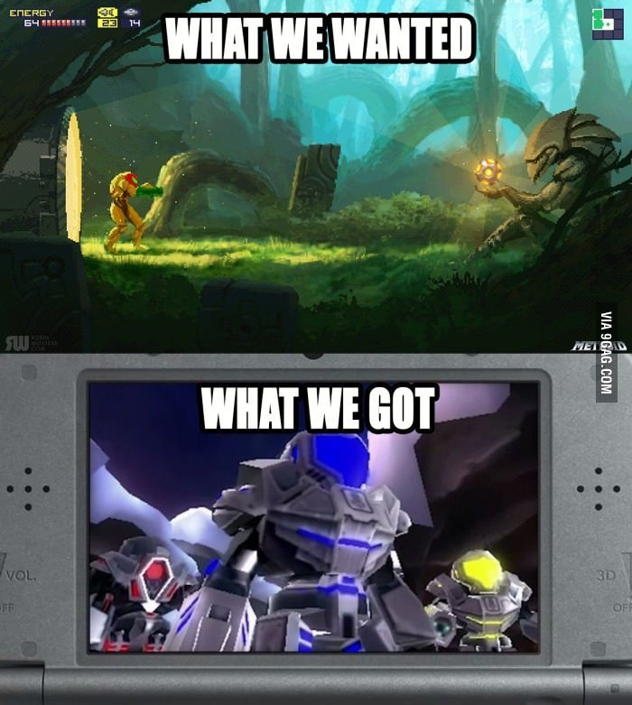 Quand Nintendo décide d'enterrer une série - meme