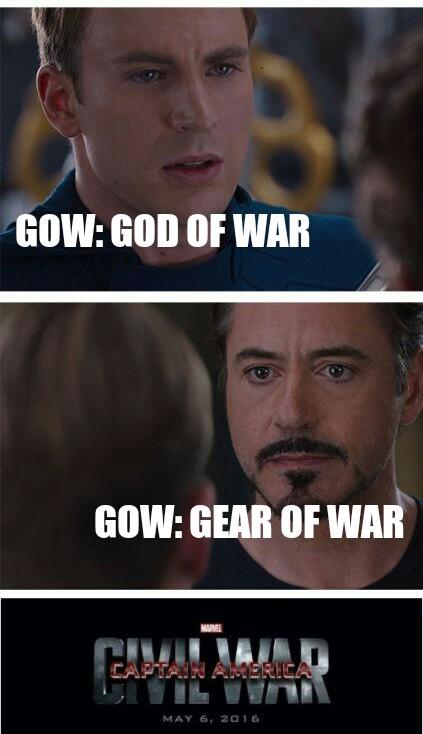 GOW - meme