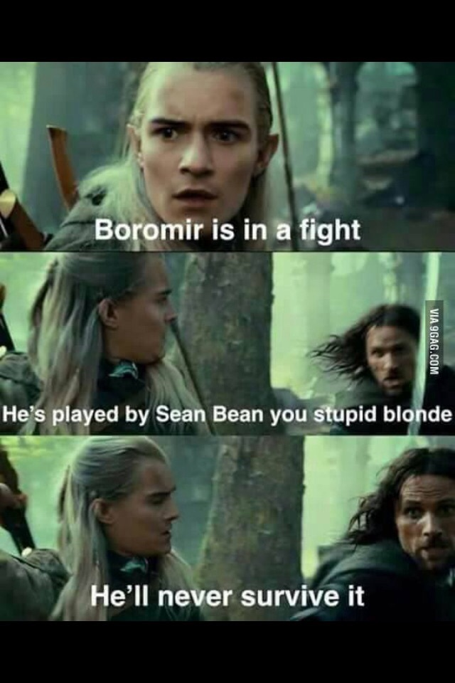 Rip Sean Bean - meme