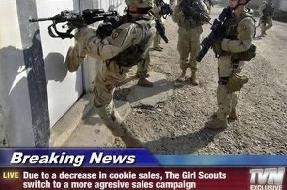 How to sell cookies - meme