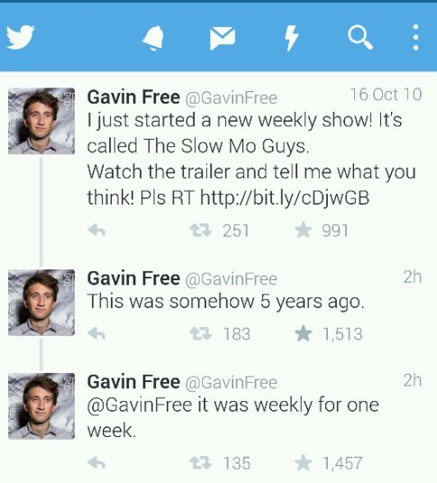 Gavin is being cheeky once again - meme