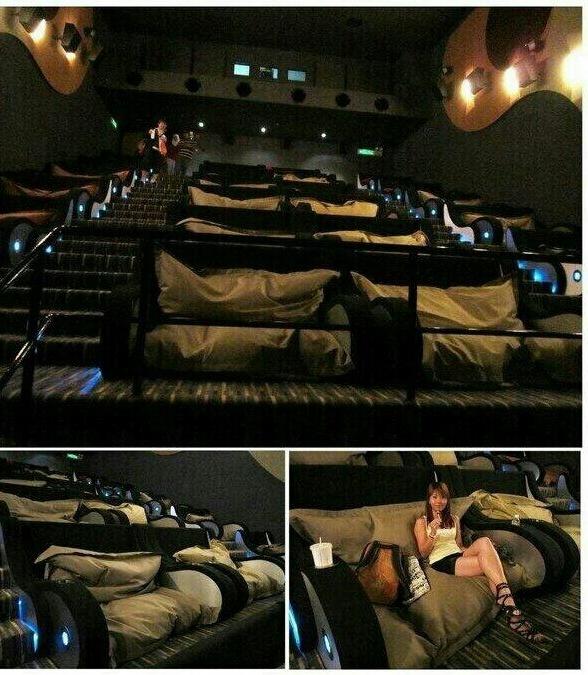 Sala de cinema ultra, mega, super foda. - meme