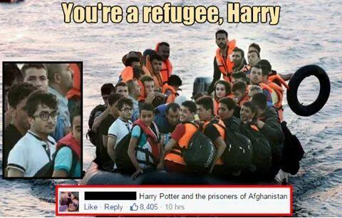 Refugees - meme