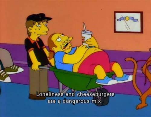 loneliness is a disease - meme