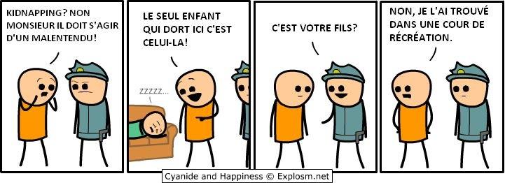 Petit Cyanide and happiness de la soirée #3 - meme