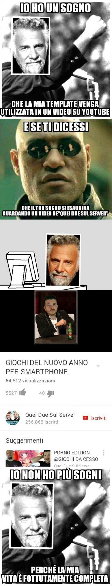 Scorrete in basso,cito bboygabro - meme