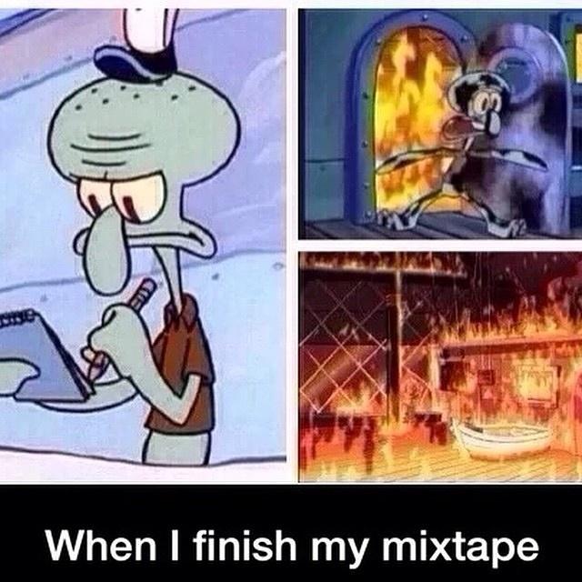 MC Squidward - meme