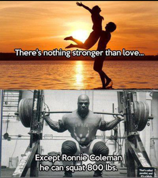 Ronnie Coleman Beats Everyone - meme