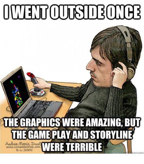 Video game fanatic - meme