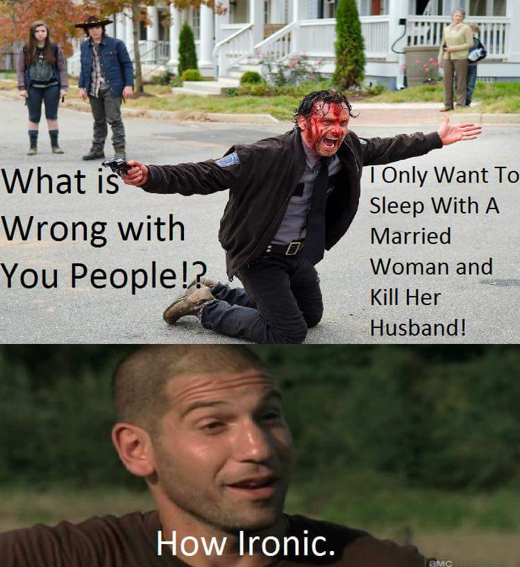 walking dead is awesome! - meme