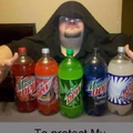 Only with mtn dew