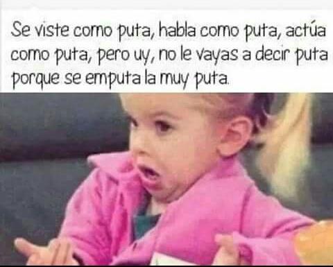 PUTA. - meme