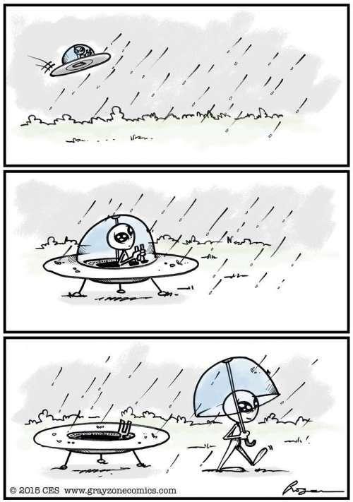 ufo umbrella - meme