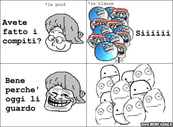 True story scolastica - meme