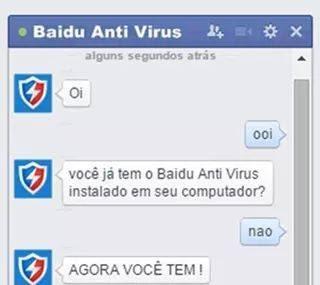 Baidu Antivírus - meme