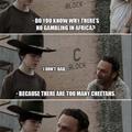 Damn it Carl LAUGH !!!