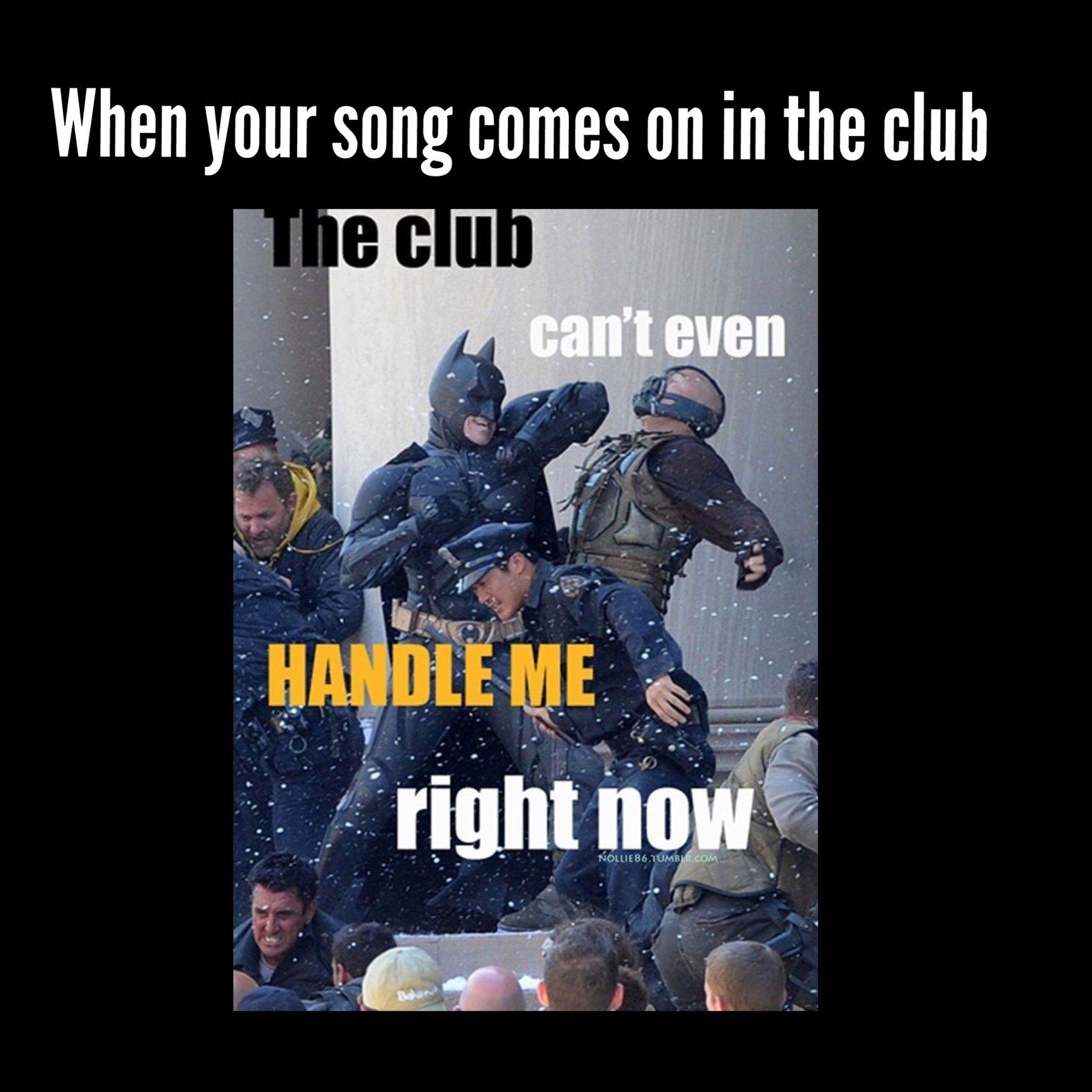 Let's go bat shit crazy - meme