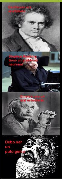 Genios - meme