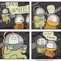 Space vampire !