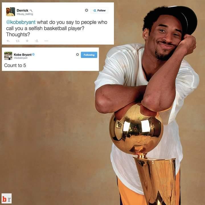 Kobe being Kobe - meme