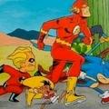 La course que tout le monde voudrait voir. Flash gagne