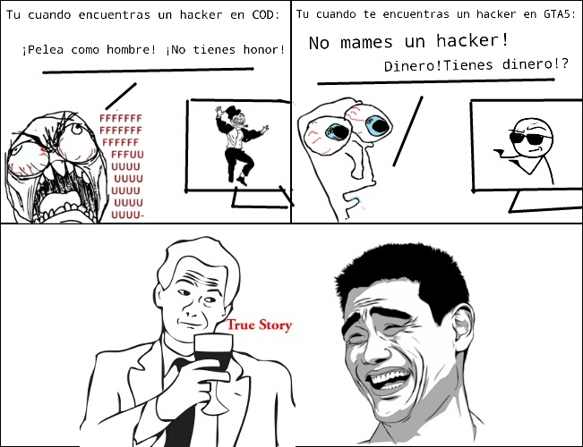 Hacker's logic! - meme